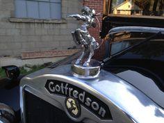 Gotfredson hood emblem