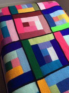 Ravelry: Modernism Baby Blanket pattern by Jill Chapman