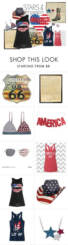 """god bless america"" by shannonsmilez ❤ liked on Polyvore featuring LoveStories"