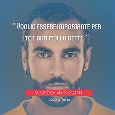 #Citazione Marco Mengoni.  #Marcomengoni #Mengoni #quote #PiazzaItalia #music #musica
