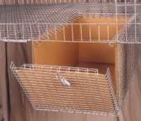 Sani  Nesting box for rabbits...    $11.50  Linners extra...