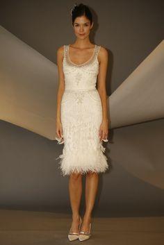 Carolina Herrera Goes Short for Bridal