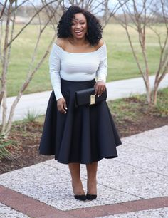 """#OnTheBlog Ola chats to us about her weight loss journey """"I am still a plus size woman just a healthier version of myself """" http://bit.ly/23gTyVX Shop her look! http://bit.ly/1RVE9aa"""