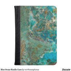 Blue Stone Kindle Case