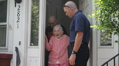 Firefighters delight woman with sweet surprise on her 100th birthday