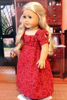Apron Front Regency Dress.
