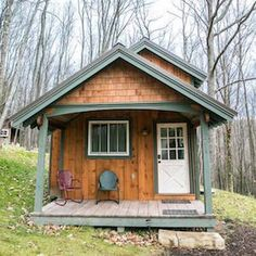 Backyard Unlimited studios and home offices, built by Amish craftspeople can be converted into stylish, tiny backyard homes.