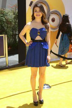 Miranda Cosgrove Looks Cute In Cutouts At 'Despicable Me 2′Premiere