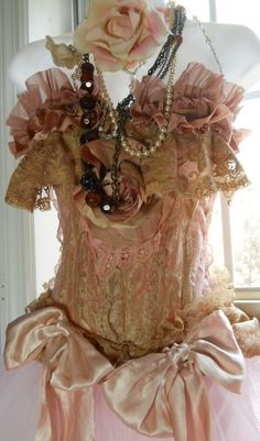 Lace silk bustier#Repin By:Pinterest++ for iPad#