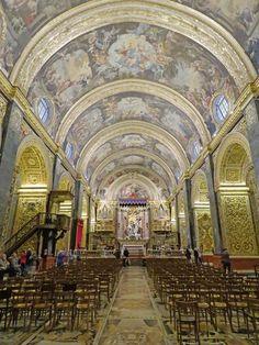 Malta | Die St. John-katedraal in Valletta