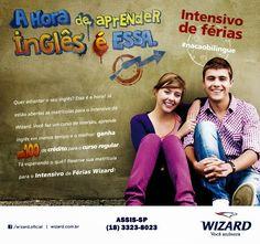 WIZARD ASSIS - Escola de Idiomas: CURSO INTENSIVO DE FÉRIAS 2015