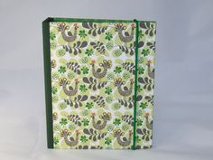 DIN A6 - Ringbuch / Notizbuch A6 - ein Designerstück von Steffis-Potpourri bei DaWanda
