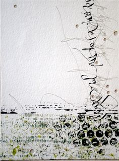 "Stéphanie Devaux Textus Inspiration for ""Oceans Deep"""