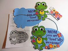 Frog Mother's Day sign kit