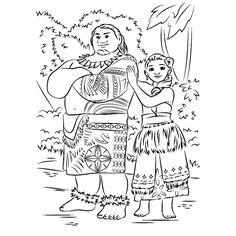 ausmalbilder vaiana kostenlos | geschenke/ ideen/ selbermachen | pinterest | ausmalen, vaiana