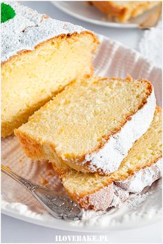 Babka budyniowa - I Love Bake Cornbread, Vanilla Cake, Sweets, Baking, My Love, Ethnic Recipes, Euro, Breads, Food