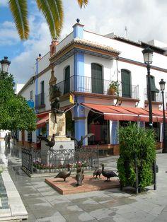 Almonte. Plaza del Ayuntamiento, Huelva Spain