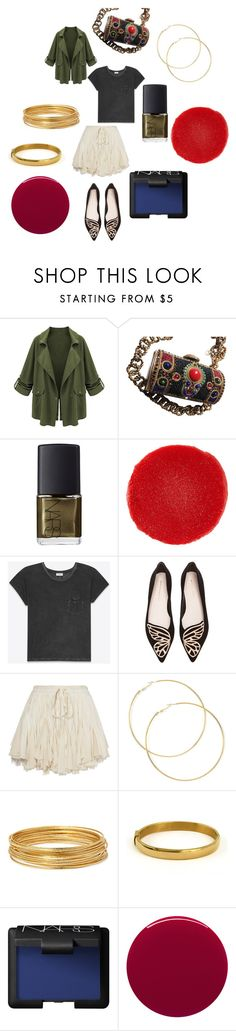 """""""City safari"""" by alisafranklin on Polyvore featuring NARS Cosmetics, Christian Louboutin, Yves Saint Laurent, Sophia Webster, Bold Elements and Smith & Cult"""