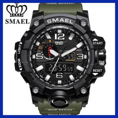 Quality SMAEL Brand Camouflage Fashion Digital Watch Men Sport Analog Quartz-Watch Swim LED Electronic Watches Mens Relogio Masculino with free worldwide shipping on AliExpress Mobile S Shock Watch, Led Watch, Mens Sport Watches, Watches For Men, Wrist Watches, Casual Watches, Analog Watches, Rugged Watches, Army Watches