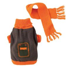 XS Outback Dog Sweater and Coordinating Scarf $49.99