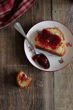 Brioche tressée et confiture de fraises homemade //