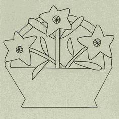 Wool Garden BOM - Bellflower Pattern WB-505