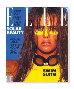 Elle Macpherson, Heidi Klum, Tyra Banks, and More on 30 Years of Iconic ELLE Covers Fashion Magazine Cover, Fashion Cover, Fashion Photo, Magazine Covers, 80s Fashion, High Fashion, Elle Macpherson, Kelly Mcgillis, Original Supermodels