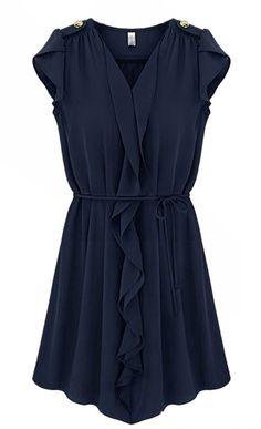 Blaues Kleidchen