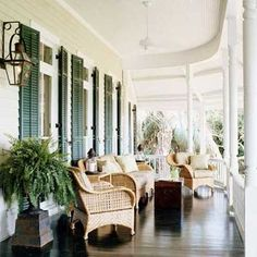 Southern porch by roslyn