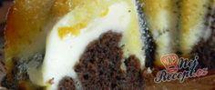 Recept Tvarohová bábovka s broskvemi Food, Essen, Yemek, Eten, Meals