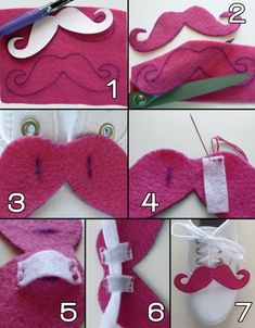 Do you love moustaches? I do! Would your shoes love to grow a moustache? Mine did!      This DIY is ...