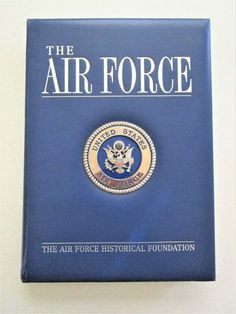 Air Force United States History Book 2002James McCarthy Hardcover Coffee Table