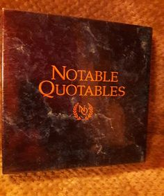 Notable Quotables Group Trivia Game by Game Makers - NEW In Box - Sealed | Toys & Hobbies, Games, Board & Traditional Games | eBay!