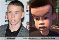 Will Poulter Totally Looks Like Sid from Toy Story....  It's the eyebrows