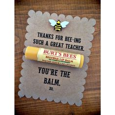 Thank you for being such a great ___________. You're the balm. Great not only…