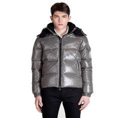 Moncler ,Moncler :Discount Grey Moncler Jackets Men Himalaya 299