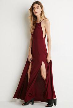 M-Slit Maxi Dress   Forever 21 - 2000141428