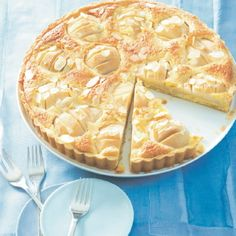 Birnen-Mandel-Tarte Rezept   Küchengötter