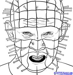 Image result for pinhead hellraiser tattoos