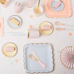 Meri Meri Pastel partyware for kids and grown ups! shop at solskenshop.com
