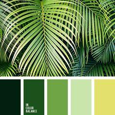 оттенки зеленого, оттенки салатового, подбор цвета для дизайнера, салатовый, светло-зеленый, светло-салатовый, тёмно-зелёный, цвет пальмовых листьев, цвет пальмы, цветовое решение для декора гостиной, яркий салатовый.