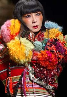 Kenzo, France.....love the colors