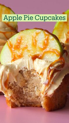 Fun Baking Recipes, Apple Recipes, Cupcake Recipes, Sweet Recipes, Dessert Recipes, Easy Desserts, Delicious Desserts, Yummy Food, Cupcakes