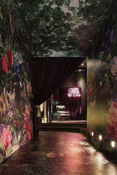 *Pretty Please Lounge:「奢華叢林」 « L.Dope 生活興奮劑sexy walls
