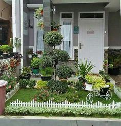 gambar teras rumah minimalis beserta taman minimalis