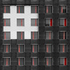 GREY AND RED FACADE | Flickr - Photo Sharing!