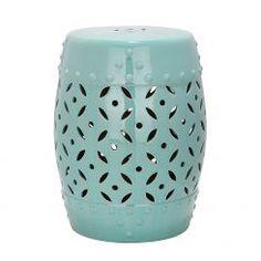 Ceramic Stool MÜNZE by Safavieh