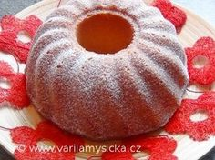 Tvarohová bábovka Something Sweet, Doughnut, Dishes, Ss, Recipes, Anna, Food, Kitchen, Cooking