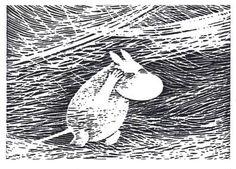 Moomin by Tove Jansson. Tove Jansson, East Of The Sun, Candy Art, Weird Creatures, High Art, Dark Matter, Linocut Prints, Book Illustration, Amazing Art