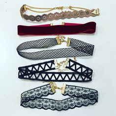 My favorite chokers Shop now: www.shopebbo.com #chokers